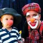 Clown Seppelino, Vorführung Kindergeburtstag, Kindertheater Überraschungsgast